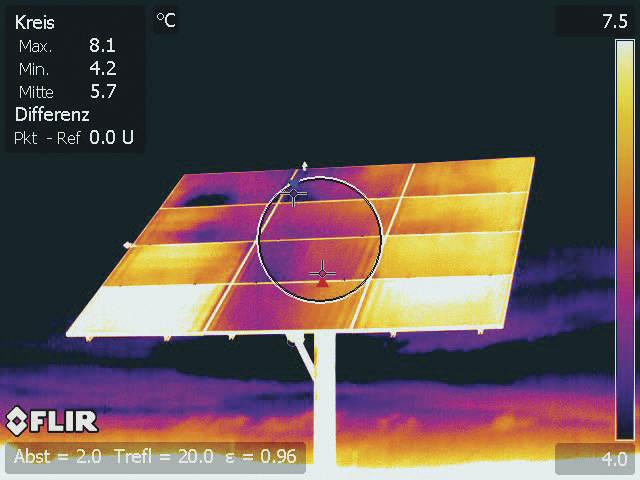 Έλεγχος φωτοβολταίκού πάρκου με θερμοκάμερα