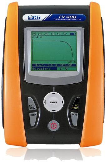 Έλεγχος φωτοβολταίκού πάρκου με IV test